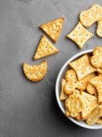 Receta de galletas saladas sin mantequilla