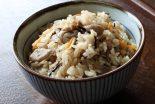arroz blanco con setas