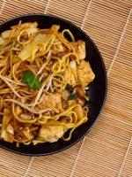 Receta de fideos chinos fritos