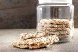 galletas saladas con harina de arroz