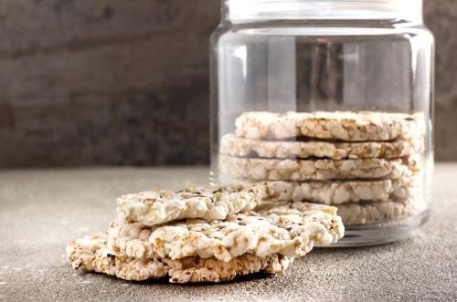 Receta de galletas saladas con harina de arroz