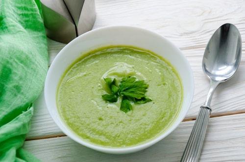 Receta de crema de brócoli y espinacas