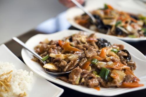 Receta de ternera en salsa china