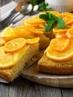 Receta de bizcocho de naranja sin gluten