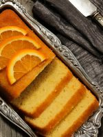 Receta de bizcocho de naranja sin huevo