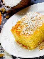 Receta de bizcocho de naranja y nueces