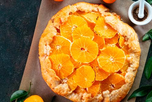 Receta de bizcocho de naranja al microondas
