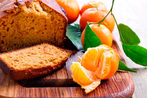 Receta de bizcocho de naranja sin yogur