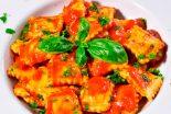 Receta de raviolis a la boloñesa