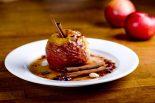 Receta de Manzana al horno sin azúcar