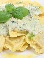Receta de raviolis de queso