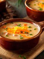 Receta de crema de coliflor y zanahoria