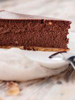 Receta de cuajada de chocolate