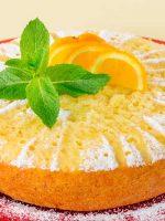 Receta de bizcocho integral de naranja