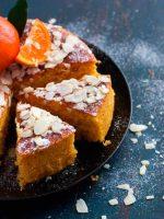 Receta de bizcocho de naranja y almendra sin harina