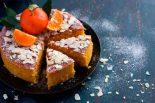 Receta bizcocho naranja y almendras