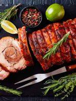 Receta de rollo de carne al horno